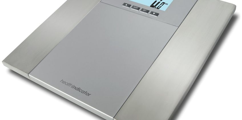 Salter Health Indicator Body Analyser Scale - Silver from Argos