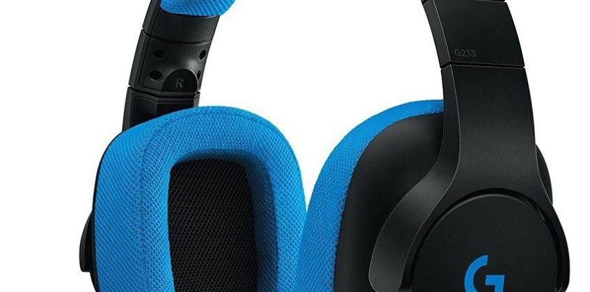 Logitech G233 Prodigy Xbox One, PS4, PC Headset - Black from Argos
