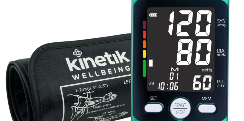 Kinetik Wellbeing Advanced Blood Pressure Monitor X2 Comfort from Argos