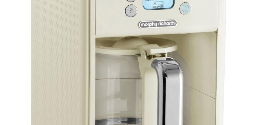 Morphy Richards 163006 Verve Filter Coffee Machine - Cream from Argos