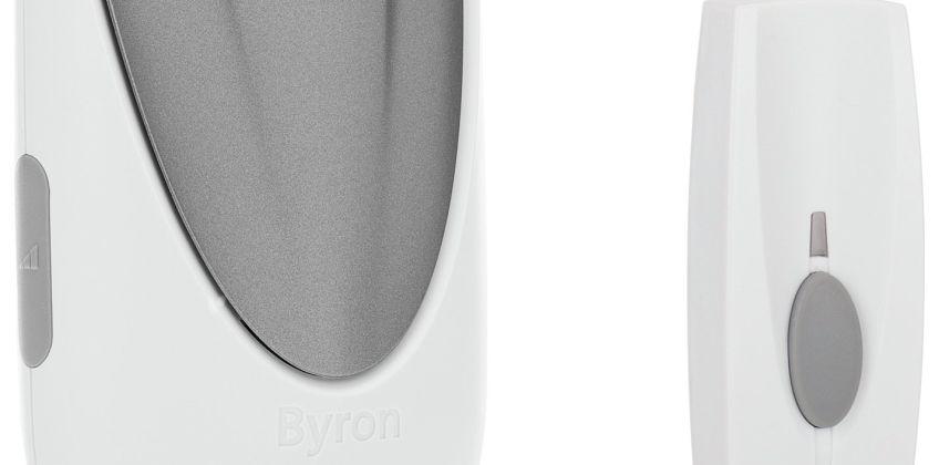 Byron BY206 125m Wireless Battery Doorbell from Argos