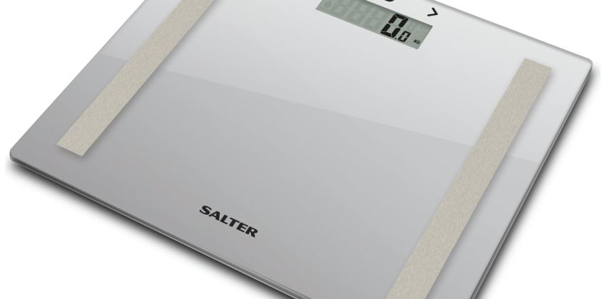 Salter Compact Glass Body Analyser Scale - Silver from Argos