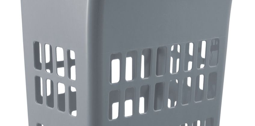 Argos Home 54 Litre Laundry Bin - Flint Grey from Argos