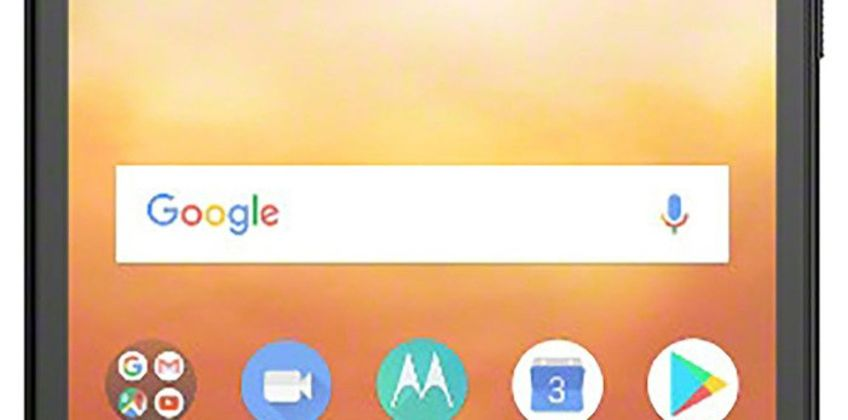 SIM Free Motorola E5 Play 16GB Mobile Phone - Black from Argos