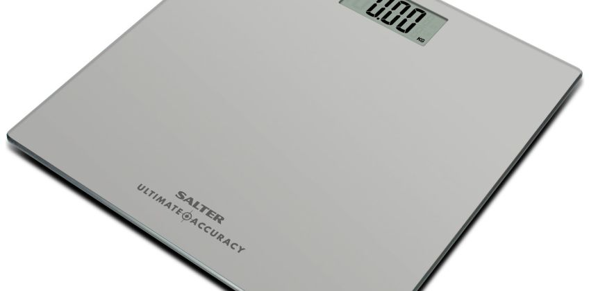 Salter Ultimate Accuracy Electronic Bathroom Scale - Silver from Argos