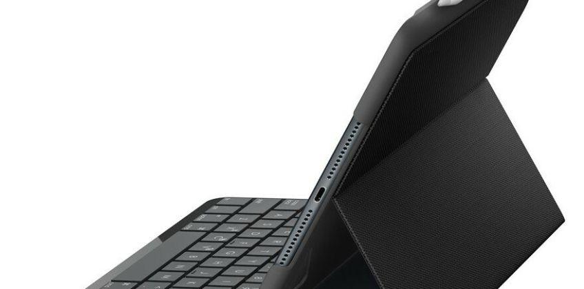 Logitech Slim Folio iPad Case (5th & 6th Gen) - Black from Argos