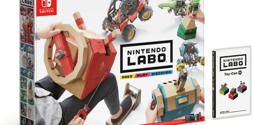 Nintendo LABO Toy-Con 03: Vehicle Kit  from Argos