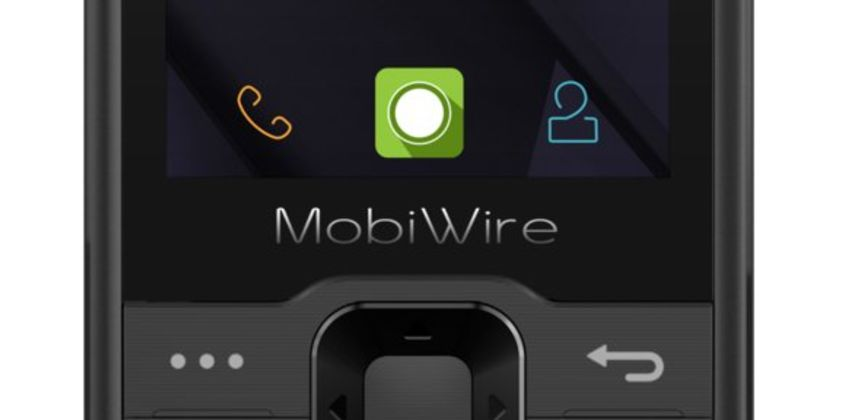 EE Mobiwire Nokosi Mobile Phone - Black from Argos