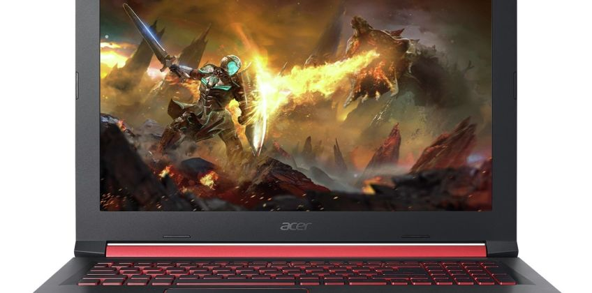 Acer Nitro 15.6 Inch i5 8GB 1TB 128GB GTX1050 Gaming Laptop from Argos