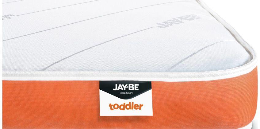 JAY-BE Open Coil Foam Free Toddler Mattress from Argos