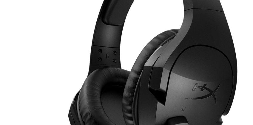 HyperX Cloud Stinger Wireless PS4 Headset - Black from Argos