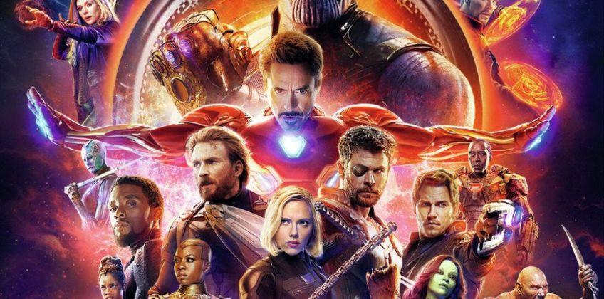 Avengers: Infinity War DVD from Argos