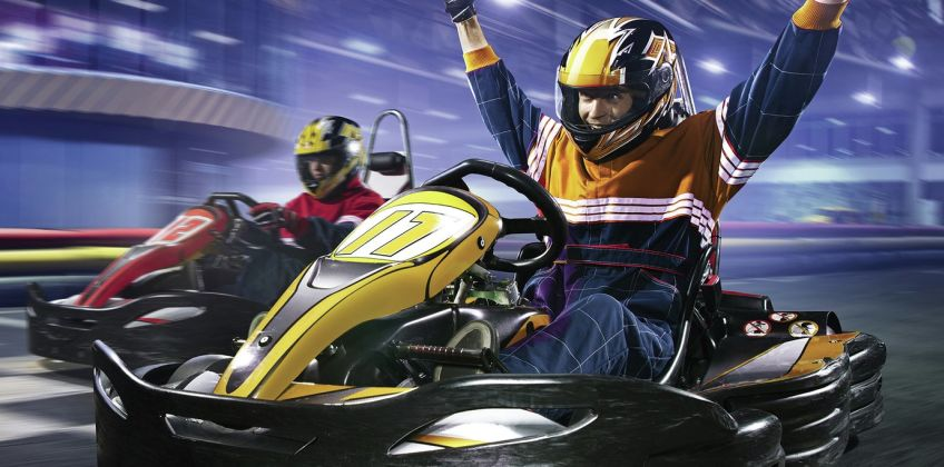 50 Lap Karting For Two Gift Experience from Argos