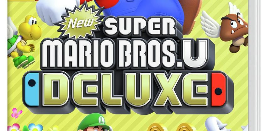 Super Mario Bros.U Deluxe Nintendo Switch Game from Argos