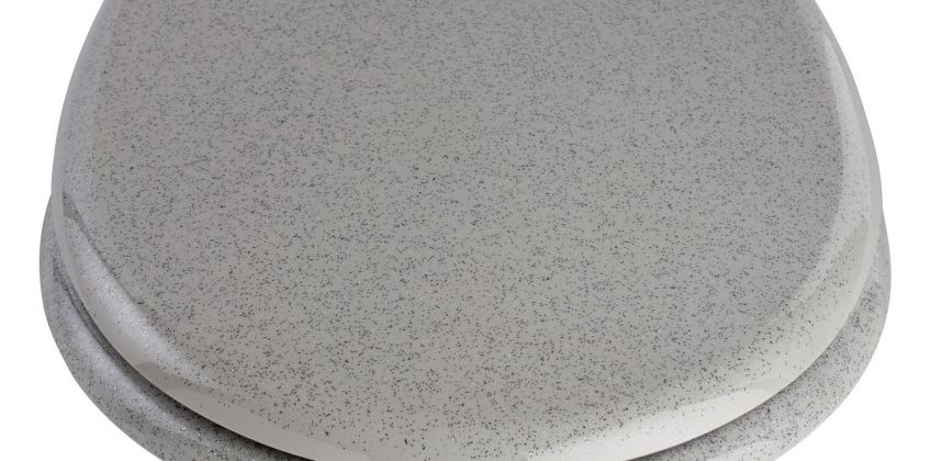 Argos Home Glitter Toilet Seat - Grey from Argos