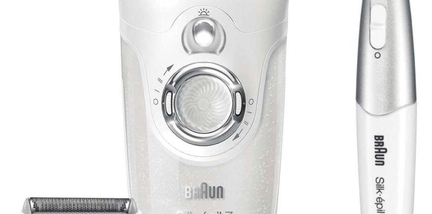 Braun Silk-epil 7 Wet and Dry Cordless Epilator from Argos