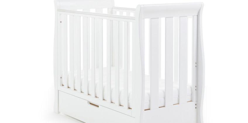 Obaby Stamford Space Saver Cot & Sprung Mattress - White from Argos