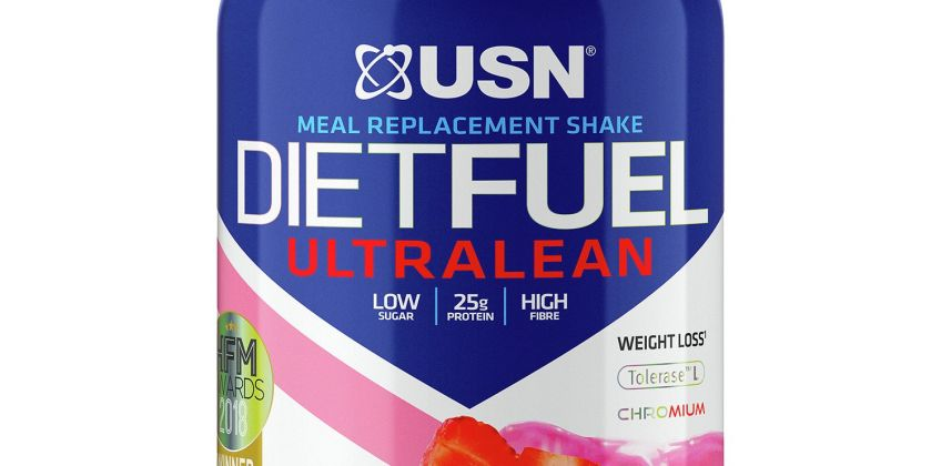 USN Diet Fuel Ultralean Strawberry Meal Replacement Shake from Argos