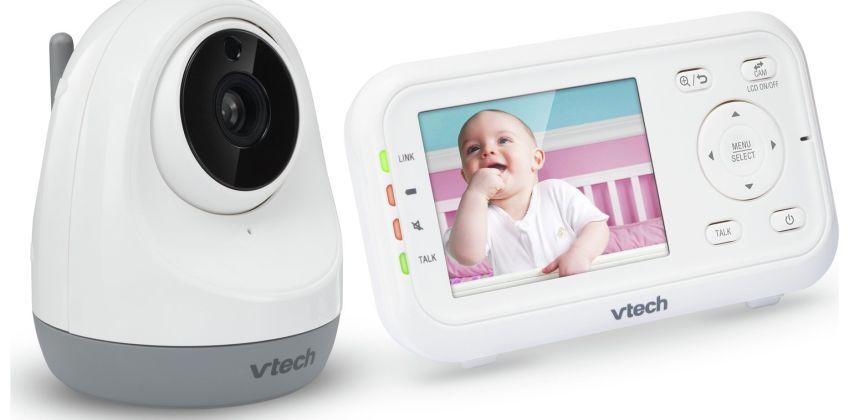 VTech 3261 Video 2.8 Inch Baby Monitor from Argos