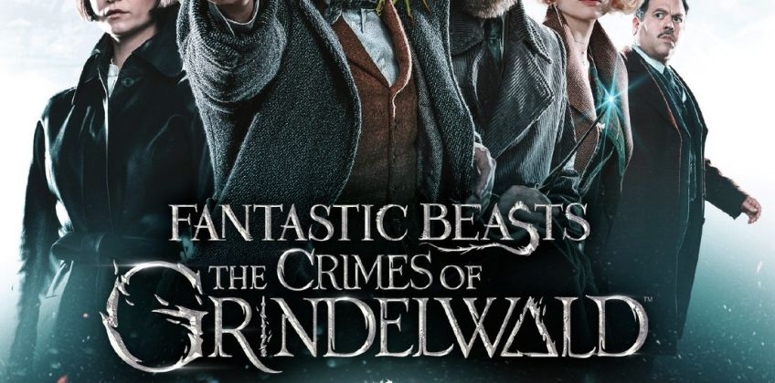 Fantastic Beasts: The Crimes of Grindelwald Blu-Ray from Argos