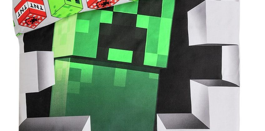Minecraft Dynamite Bedding Set from Argos