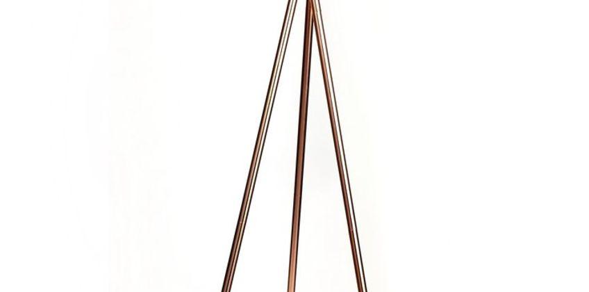 Argos Home Tripod Floor Lamp - Copper & Black from Argos