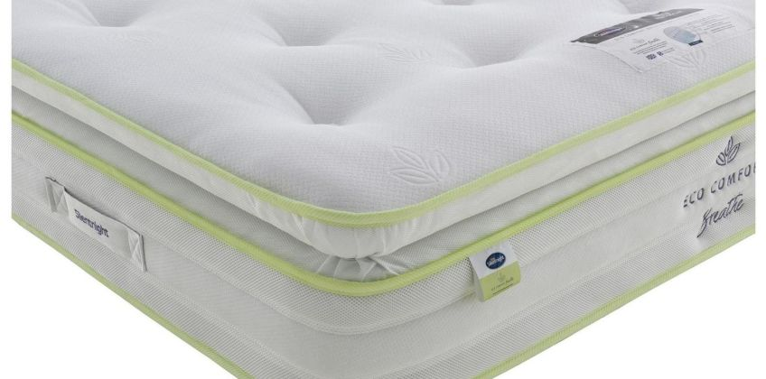 Silentnight EcoComfort Breathe 2000 Pillowtp Tufted Mattress from Argos