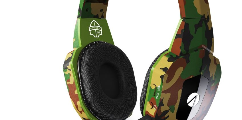 Stealth Cruiser Wireless PS4, PC Headset - Camo from Argos
