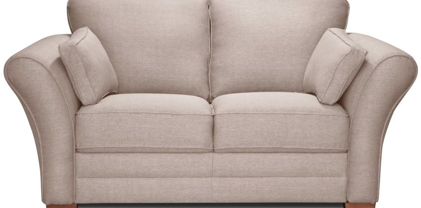 Argos Home New Thornton 2 Seater Fabric Sofa - Old Rose from Argos