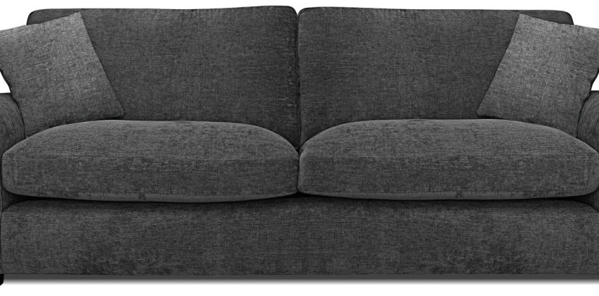 Argos Home Tammy 4 Seater Fabric Sofa - Charcoal from Argos