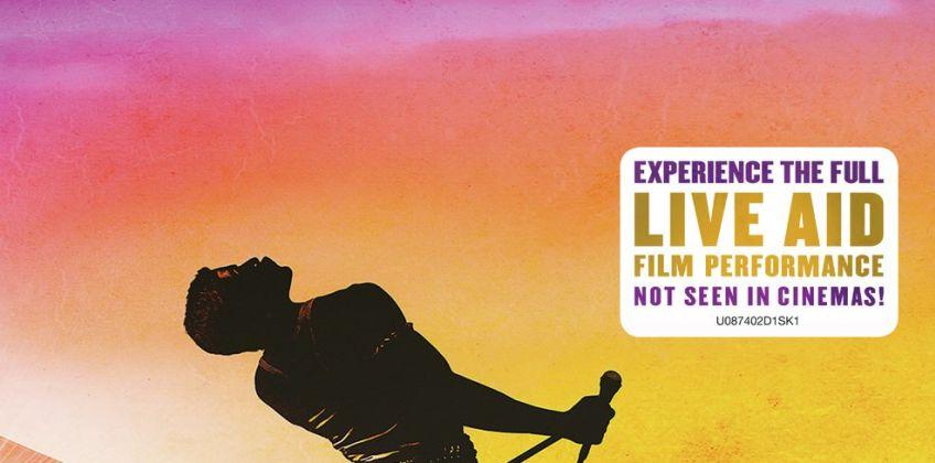 Bohemian Rhapsody DVD from Argos