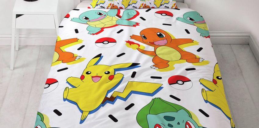 Pokemon Memphis Bedding Set from Argos