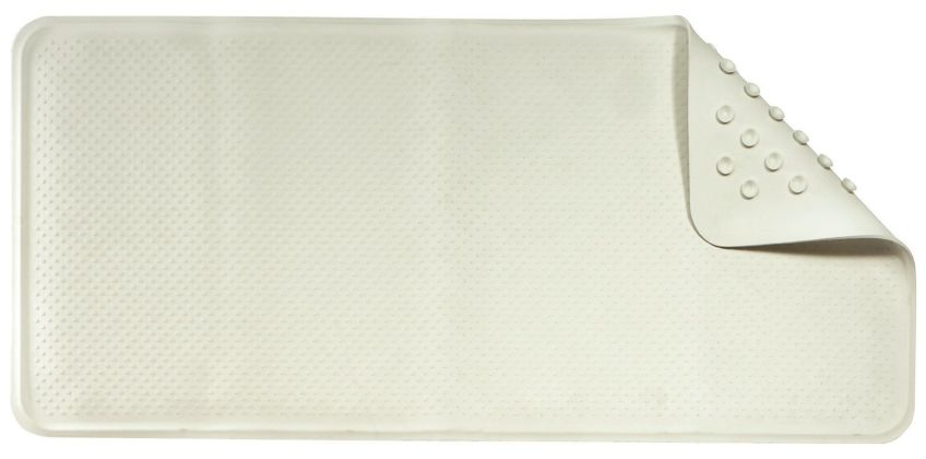 Croydex Anti-Bacterial Rubber Bath Mat - Cream from Argos