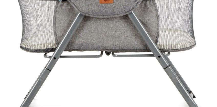 Baby Elegance Kangu Foldable Bedside Sleeper - Grey from Argos