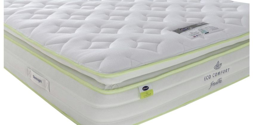 Silentnight Eco Comfort Breathe 2000 Pillowtop Mattress from Argos