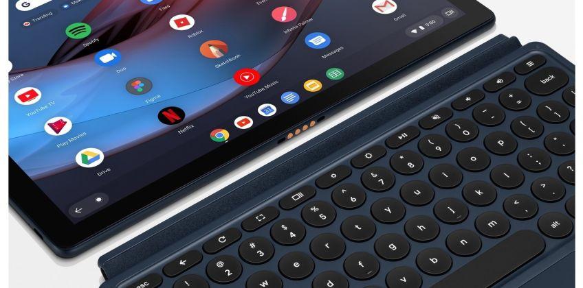 Pixel Slate 12.3 Inch i5 8GB 128GB 2-in-1 Chromebook Bundle from Argos