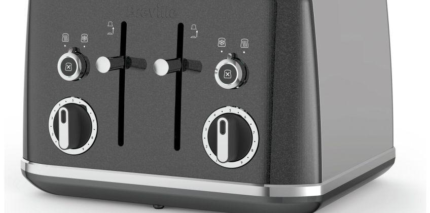 Breville VTT853 Lustra 4 Slice Toaster - Storm Grey from Argos
