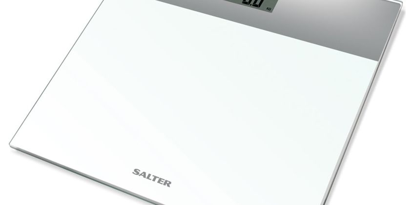 Salter Glass Electronic Scale - White from Argos