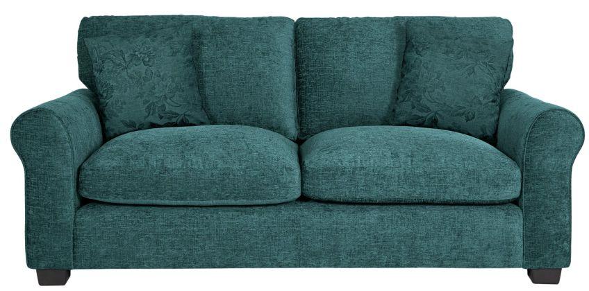 Argos Home Tammy 3 Seater Fabric Sofa - Teal from Argos