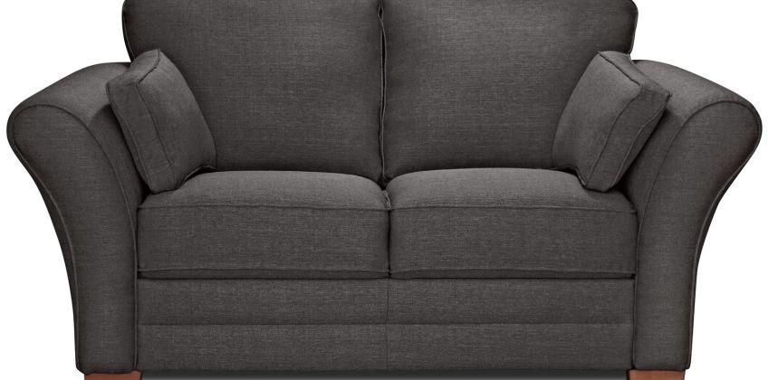 Argos Home New Thornton 2 Seater Fabric Sofa - Charcoal from Argos