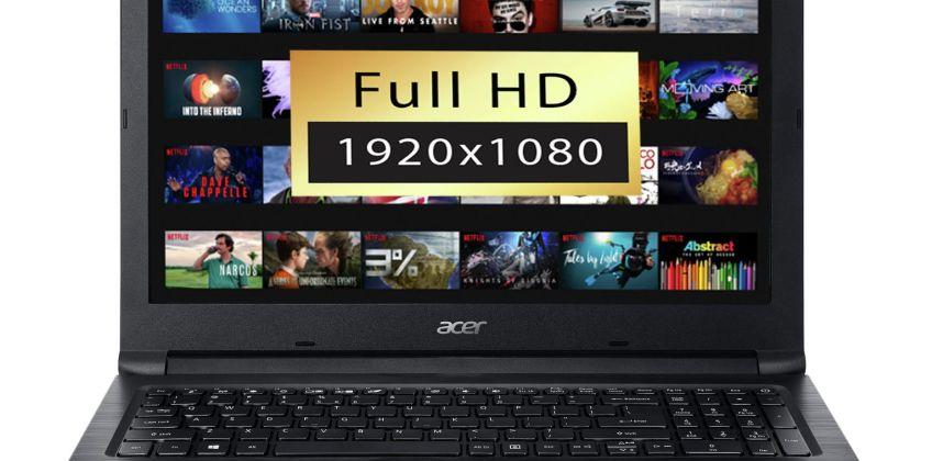 Acer Aspire 3 15.6 Inch AMD A6 4GB 1TB FHD Laptop from Argos