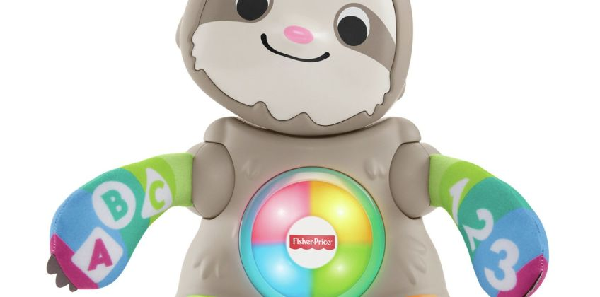 Fisher-Price Linkimals Smooth Moves Sloth Baby Toy from Argos