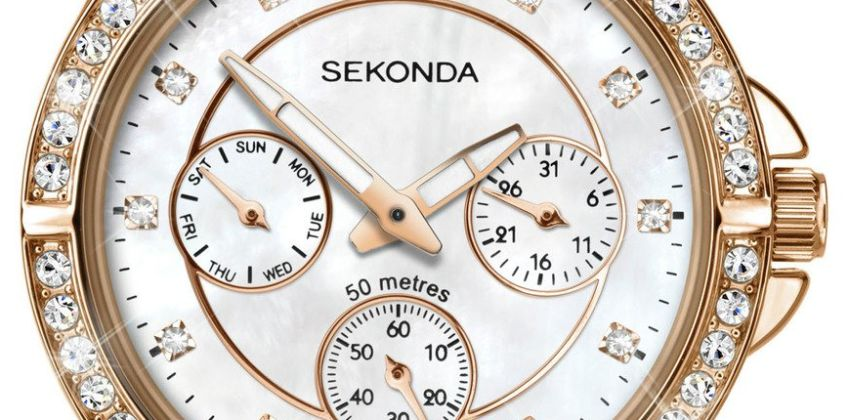Sekonda Editions Ladies Rose Gold Coloured Bracelet Watch from Argos