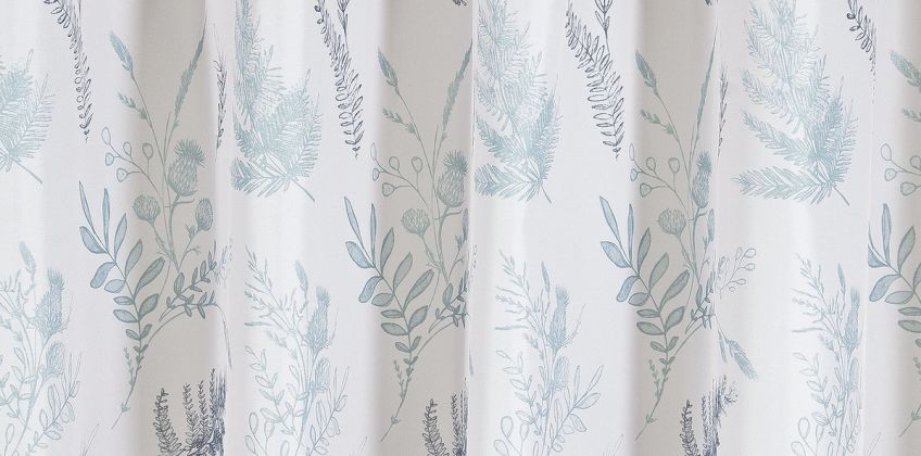 Argos Home Outline Floral Shower Curtain from Argos