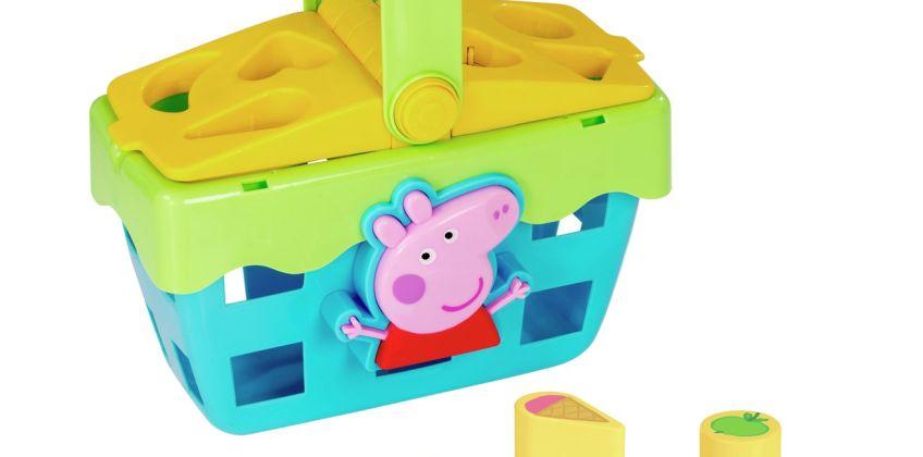 Peppa Pig Shape Sorting Picnic Set from Argos