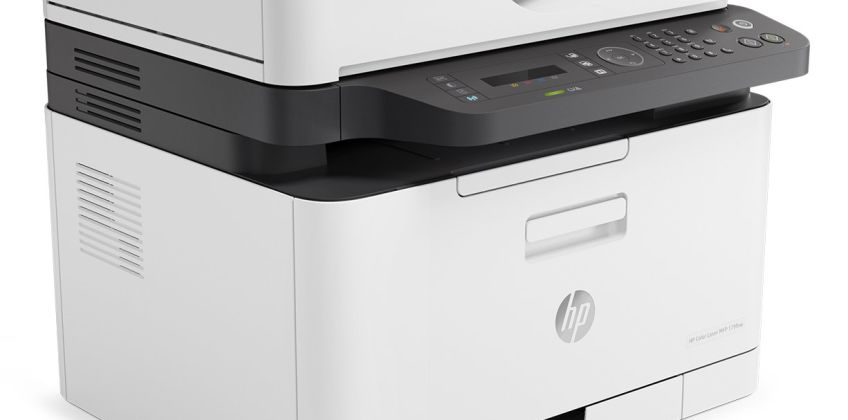 HP LaserJet MFP 179FNW Wireless Colour Laser Printer from Argos