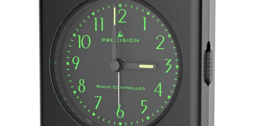 Precision Radio Control Light & Snooze Alarm Clock from Argos