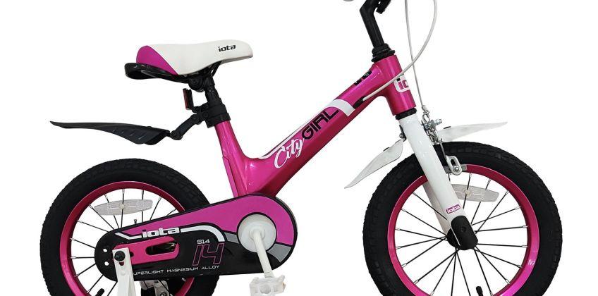 Iota City 14 inch Wheel Size Alloy Kid's Bike from Argos
