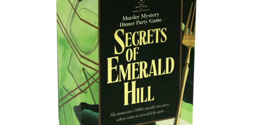 Professor Puzzle Secrets of Emerald Hill from Argos