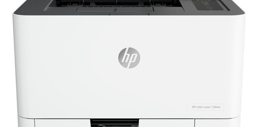 HP LaserJet 150NW Wireless Colour Laser Printer from Argos